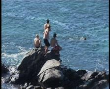 Beach Park Hookipa Maui 04 Stock Footage