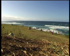 Hawaii Hookipa timelap 01 Stock Footage