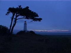 Kap Arkona Lighthouse 01 Stock Footage