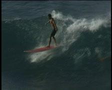 Surfing Hawaii Hookipa 02 Stock Footage