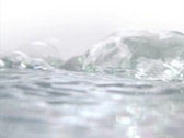 Stock Video Footage of High Speed Camera : Water Ripples & Undulation 032 (600fps) : VJ Loop