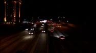 405-sunset4 Stock Footage