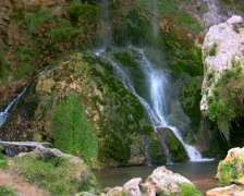 Mountain Waterfall 1 PAL NTSC  & HD Available - stock footage