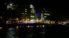 Dublin Dockland  Stock Footage
