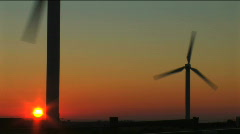 Wind power & energy Stock Footage
