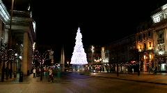 O Connell street Dublin - stock footage