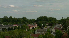 Suburbs Time Lapse Stock Footage