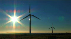 Wind power & energy - stock footage