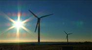Stock Video Footage of Wind power & energy