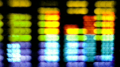 volume stereo hifi information graphic equalisers music sound audio - stock footage