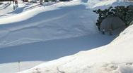 Skiing 9 Stock Footage