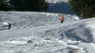 Skiing 8 Stock Footage