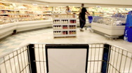 Stock Video Footage of Speed Grocery Shopping Time Lapse