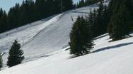 Skiing 1 Stock Footage