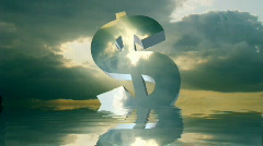 Symbol relections 001 Stock Footage