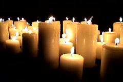 Candles_4 - stock footage