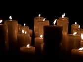 Stock Video Footage of Candles_3