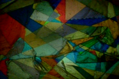 Stained-Glass-Fragments Stock Footage