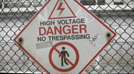 High Voltage! Stock Footage