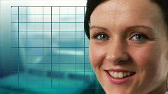 Woman Scientist Stock Footage