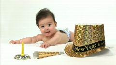 Uusi vuosi vauva Arkistovideo