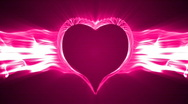 Stock Video Footage of loopable valentine's day energy heart abstract 1080p