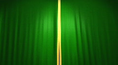Theater Velvet Curtains,Alpha included Stock Footage