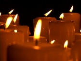 Stock Video Footage of Candles-CU_4