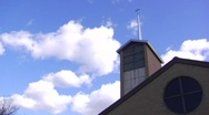 126 - Church Time-Lapse Stock Footage