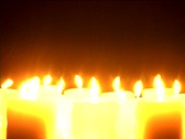 Stock Video Footage of Candles-CU_2