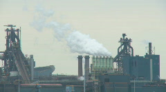 Factory in action Stock Footage