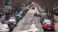 Stock Video Footage of New York Street Timelapse