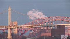 New York Triborough Bridge 2 Stock Footage