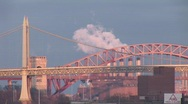 Stock Video Footage of New York Triborough Bridge 2