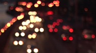 Out of Focus Traffic Stock Footage