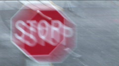 STOP!!! - stock footage