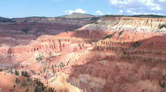 Cedar Breaks National Monument, Utah Stock Footage