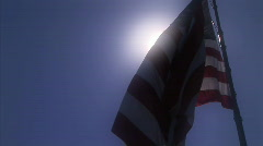 large United States flag HD - stock footage