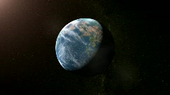 Zooming into Earth - stock footage