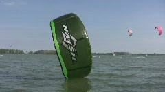 Kiteboarding! Various clips. Stock Footage
