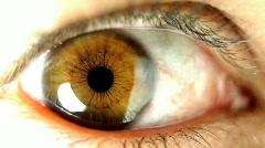 Big eye02 Stock Footage