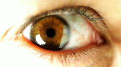 Big eye03 Stock Footage