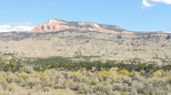 Utah Wild West scenery Stock Footage