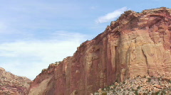 Cliff, Capitol Reef NP Stock Footage