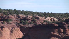 Desert Birds Above Canyon Stock Footage