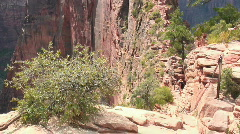 Angels Landing, Zion NP Stock Footage