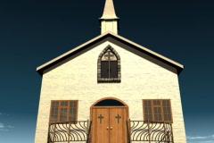 ChurchDoorB 15 2997 - stock footage