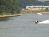 Man on Jetski Stock Footage