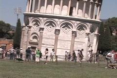 Pisa Tilt Up Stock Footage