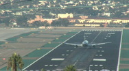 Stock Video Footage of commercial airplane takeoff